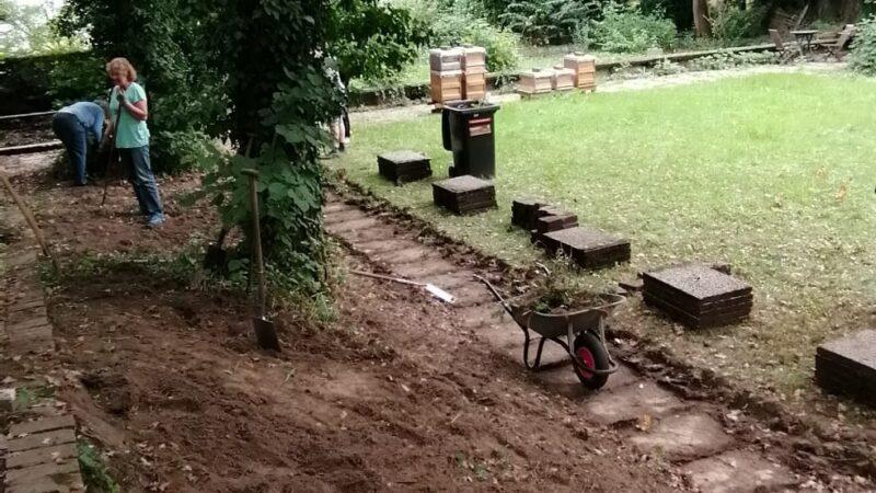 Theorie und Praxis zum Bau einer Trockenmauer 2-