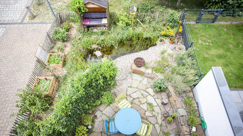 Naturnaher Mini-Privatgarten 2-